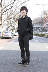 ファッションコーディネート原宿・表参道 2013年03月 高村雄大さん