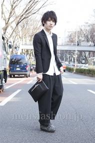ファッションコーディネート原宿・表参道 2013年03月 吉河大樹さん