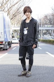 ファッションコーディネート原宿・表参道 2013年03月 小峰駿介さん
