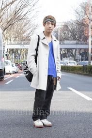 ファッションコーディネート原宿・表参道 2013年03月 名古屋 優さん