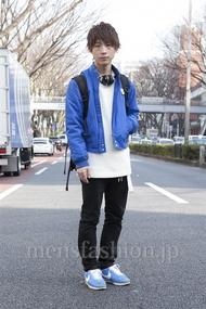 ファッションコーディネート原宿・表参道 2013年03月 名古屋雅史さん