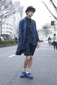 ファッションコーディネート原宿・表参道 2013年03月 石田直輝さん