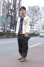ファッションコーディネート原宿・表参道 2013年03月 シュンスケさん