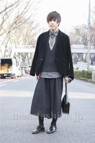 ファッションコーディネート原宿・表参道 2013年03月 原田浩一さん