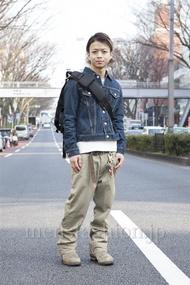 ファッションコーディネート原宿・表参道 2013年03月 佐藤貴龍さん