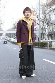 ファッションコーディネート原宿・表参道 2013年03月 小西 周さん