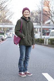 ファッションコーディネート原宿・表参道 2013年03月 ワタベショウマさん