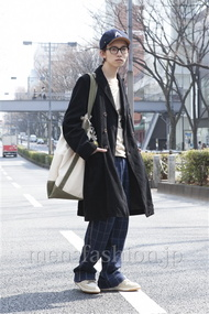ファッションコーディネート原宿・表参道 2013年03月 浦辻大奨さん