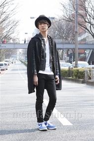 ファッションコーディネート原宿・表参道 2013年03月 小原教宏さん