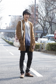 ファッションコーディネート原宿・表参道 2013年03月 高橋直斗さん
