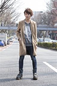 ファッションコーディネート原宿・表参道 2013年03月 上野 亮さん