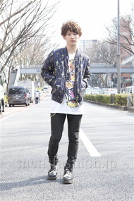 ファッションコーディネート原宿・表参道 2013年03月 山野純輝さん