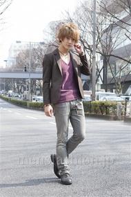 ファッションコーディネート原宿・表参道 2013年03月 大倉士門さん