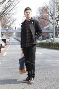 ファッションコーディネート原宿・表参道 2013年03月 浅香啓輔さん