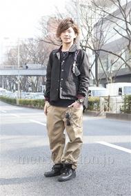 ファッションコーディネート原宿・表参道 2013年03月 ユウイチロウさん