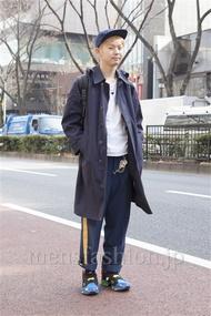 ファッションコーディネート原宿・表参道 2013年03月 斎藤章平さん