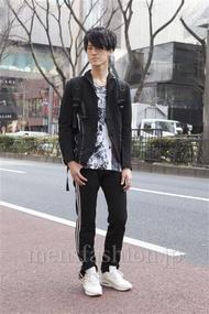 ファッションコーディネート原宿・表参道 2013年03月 くろさん