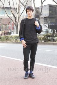 ファッションコーディネート原宿・表参道 2013年03月 佐々木和彦さん