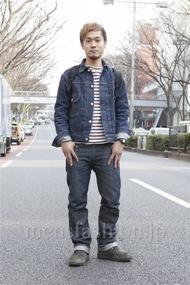 ファッションコーディネート原宿・表参道 2013年03月 川原一高さん