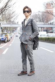 ファッションコーディネート原宿・表参道 2013年03月 ゆうすけさん