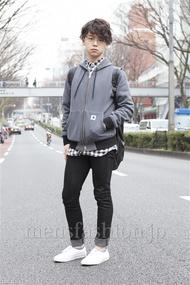 ファッションコーディネート原宿・表参道 2013年03月 アンドウコウイチさん