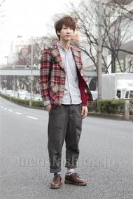 ファッションコーディネート原宿・表参道 2013年03月 長岡誠和さん
