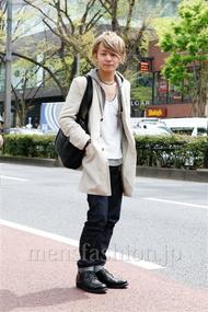 ファッションコーディネート原宿・表参道 2013年04月 松田亮葉さん