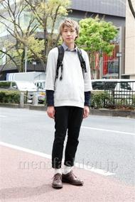ファッションコーディネート原宿・表参道 2013年04月 宮下佳佑さん