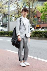ファッションコーディネート原宿・表参道 2013年04月 アンドウコウイチさん