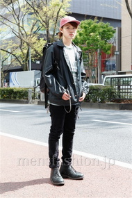 ファッションコーディネート原宿・表参道 2013年04月 根本晋太郎さん