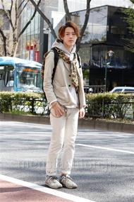 ファッションコーディネート原宿・表参道 2013年04月 伏貫 諒さん
