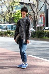 ファッションコーディネート原宿・表参道 2013年04月 小原教宏さん