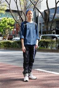 ファッションコーディネート原宿・表参道 2013年04月 斎藤章平さん