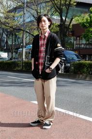 ファッションコーディネート原宿・表参道 2013年04月 松金祐大さん