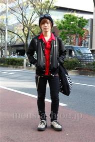 ファッションコーディネート原宿・表参道 2013年04月 炭谷尭人さん