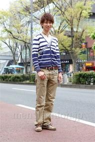 ファッションコーディネート原宿・表参道 2013年04月 矢島 聖さん