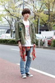 ファッションコーディネート原宿・表参道 2013年04月 加藤康貴さん