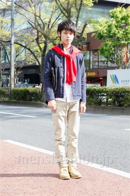 ファッションコーディネート原宿・表参道 2013年04月 五味純一さん