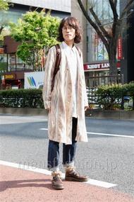 ファッションコーディネート原宿・表参道 2013年04月 カガラシュンさん
