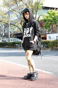 ファッションコーディネート原宿・表参道 2013年04月 夏川登志郎さん