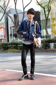 ファッションコーディネート原宿・表参道 2013年04月 上野晃宏さん