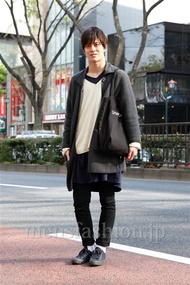 ファッションコーディネート原宿・表参道 2013年04月 佐々木和彦さん