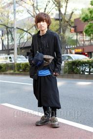 ファッションコーディネート原宿・表参道 2013年04月 あきとさん