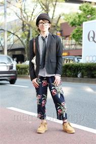 ファッションコーディネート原宿・表参道 2013年04月 山口智史さん