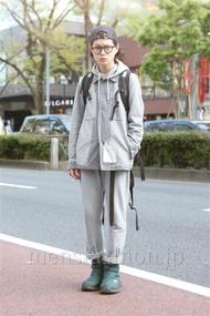 ファッションコーディネート原宿・表参道 2013年04月 長澤隆太郎さん