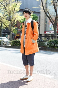 ファッションコーディネート原宿・表参道 2013年04月 茄子川 建さん