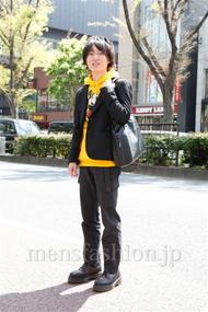 ファッションコーディネート原宿・表参道 2013年04月 田中利樹さん