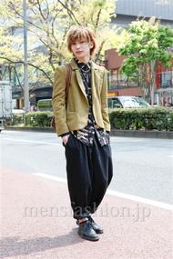 ファッションコーディネート原宿・表参道 2013年04月 岡 毅さん