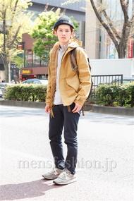 ファッションコーディネート原宿・表参道 2013年04月 山野純輝さん