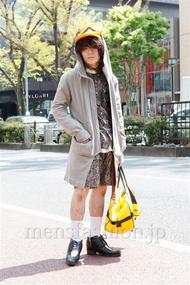 ファッションコーディネート原宿・表参道 2013年04月 nabescoさん